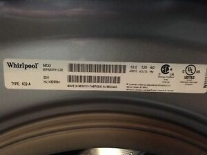 Whirlpool Duet Washer and Dryer Kitchener / Waterloo Kitchener Area image 6