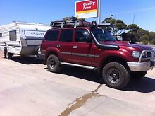 Caravan and Toyota cruiser package Mount Barker Mount Barker Area Preview