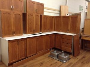 Gently Used Oak Kitchen at the HFH ReStore