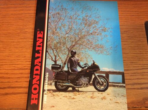 VINTAGE 1982 HONDA HONDALINE MOTORCYCLE ACCESSORIES BROCHURE