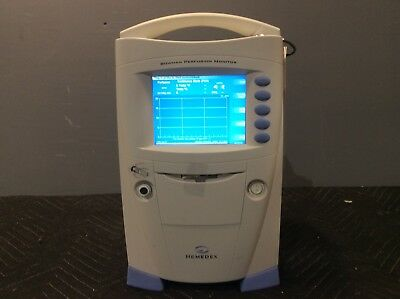 Hemedex Bowman 500 Perfusion Monitor Medical Healthcare Surgical Equipment