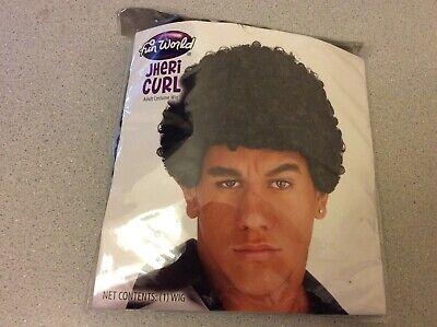 Halloween Costumes Black Curly Hair (Jheri Curl Wig Black Curly Hair Halloween Costume Character Fun World Adult)