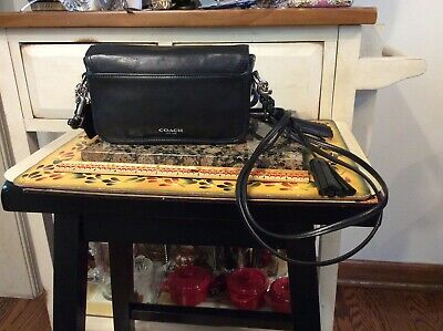 VTG  Coach Legacy Penny Crossbody 19914 Bag Small Black leather Tassel Purse