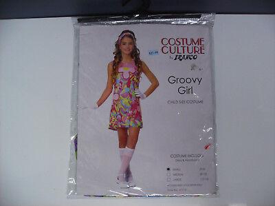 GROOVY GIRL HIPPIE HIPPY CHILD HALLOWEEN COSTUME SMALL](Hipster Girl Halloween)