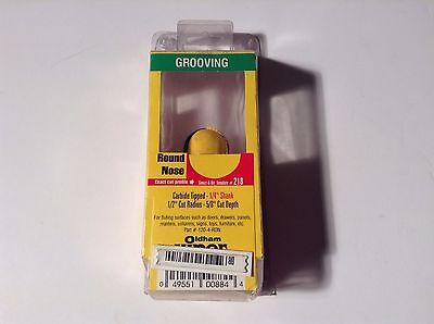 Oldham Viper 120-4-ron 12 Cut Radius Grooving Round Nose Router Bit