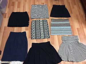 8 skirts (size xs to small)
