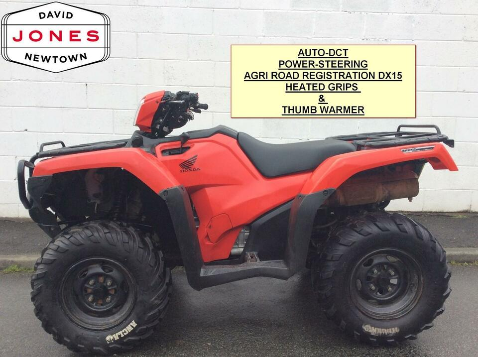 2015 HONDA TRX500FA6 FOREMAN DCT 10 SPEED LOW BOX 4x2x4 QUAD BIKE ATV 4X4