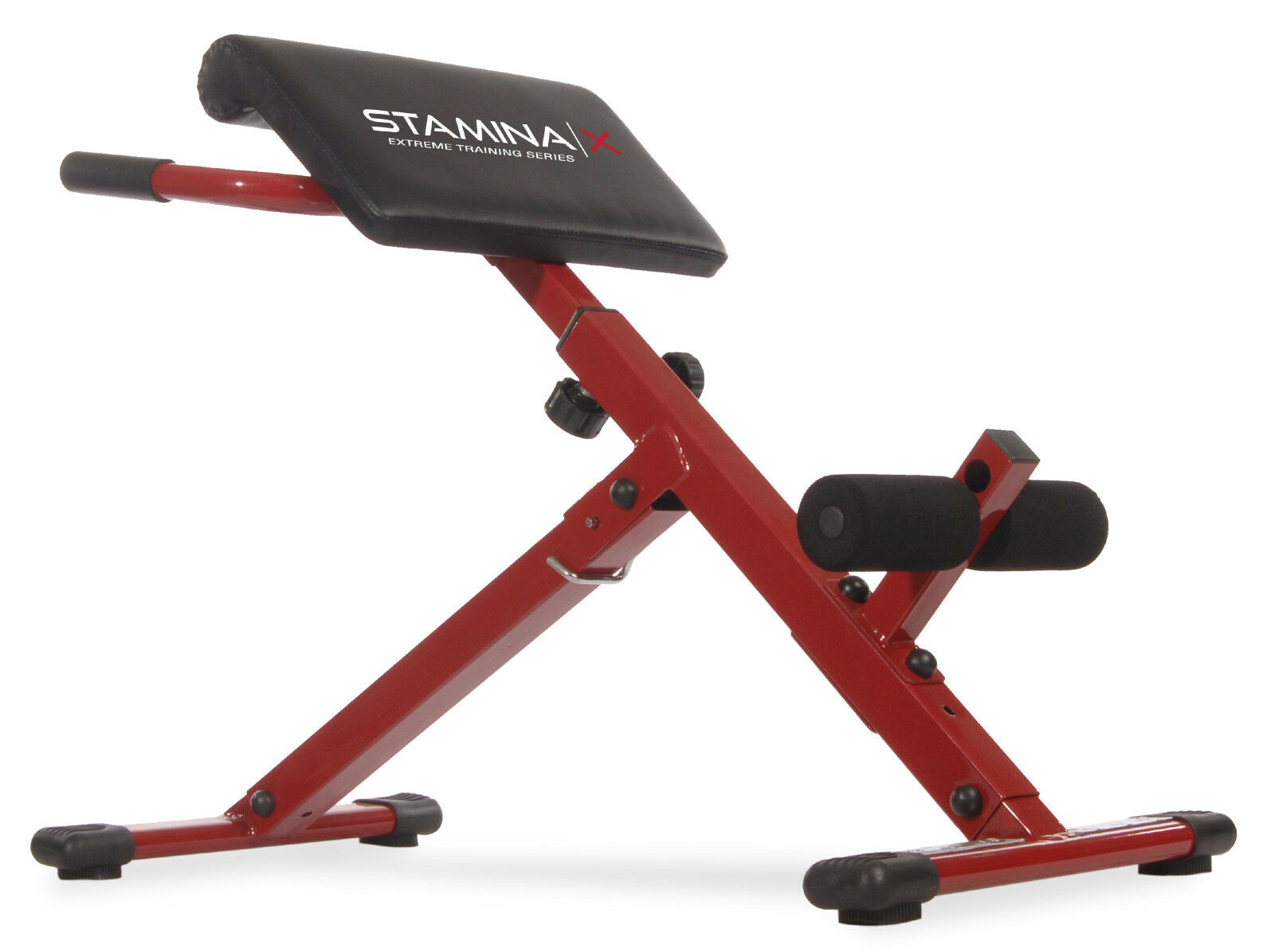 Apex roman chair exercises - Stamina X Hyper Bench Adjustable Abs Back Hyper Extension Exercise Roman Chair