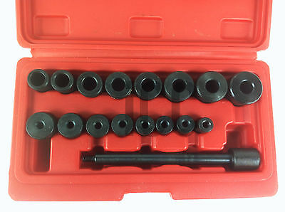 17pc car van clutch alignment tool aligning flywheel shaft spline pilot level