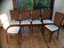 Beautiful timber chairs Mona Vale Pittwater Area Preview