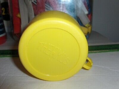 Kiss Lunch Box-Thermos Yellow Cup-By The Thermos Company-28A53 ->Free To US