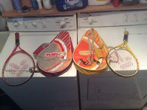 Raquette tennis enfants junior avec étui - sac de transport.