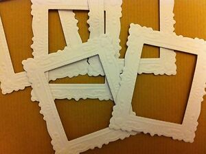 Marianne Decorative Die-cut And Embosssed Frames (white)