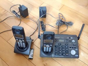 Business wireless telephone 2 line answering machine.