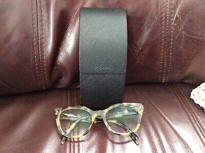 PRADA Eyeglasses  VPR 21S  51019-780 101-149 Tortoise Women Full Rim/Case