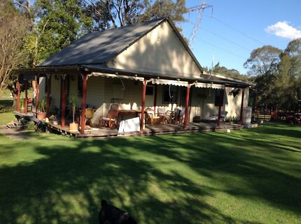 Three bedroom cottage. 9.75 acres Morisset Lake Macquarie Area Preview