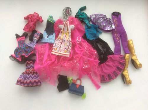 Lot with clothes and accessories for dolls Monster High