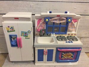 Fisher Price Doll Kitchen - Fits American Girl Dolls!