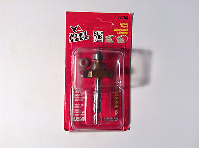 Vermont American 22768 Carbide Tipped 516 Corner Round And Beading