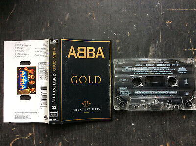 ABBA Gold Greatest Hits cassette Polydor 1992 exc