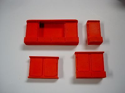 Wall Cabinets-Set of 4 different ones-for your shop/garage/diorama 1/18, 1/24, G for sale  Shipping to India