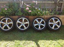 Mag wheels and tyres 18 inch Sebastopol Ballarat City Preview