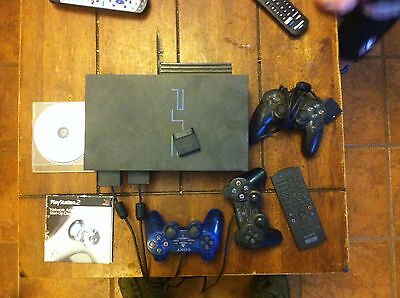 Sony PlayStation 2 Black Console with many games  (SCPH-30001R)