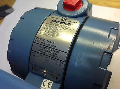 Rosemount Alphaline Temperature Transmitter Pn 0444rl3u1a1e5 New Nos Sale 149