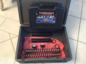 Techno research diagnostic kit and fork springs for moto guzzi