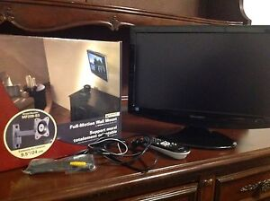 "19"" Sharp tv and wall mount"