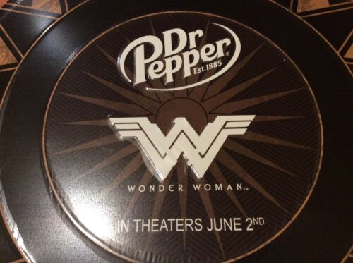 Wonder Woman Dr Pepper shield