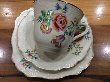 Trio cup saucer cake plate sunshine reg 561073 j & g Meakin England Tumbi Umbi Wyong Area Preview