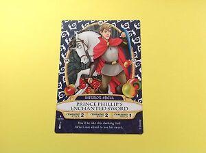 WALT DISNEY SORCERERS of the MAGIC KINGDOM CARD # 33 Prince Phillip's Enchanted