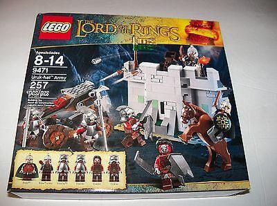 Retired LEGO 9471 LORD of the RINGS Sauron / Saruman URUK HAI ARMY Battle Set