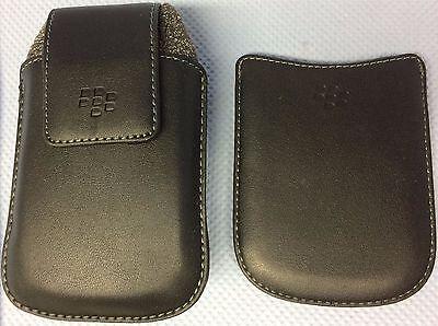 Original BlackBerry Swivel Holster, Leder + BlackBerry Einstecktasche Curve 8900 Blackberry Curve Swivel Holster