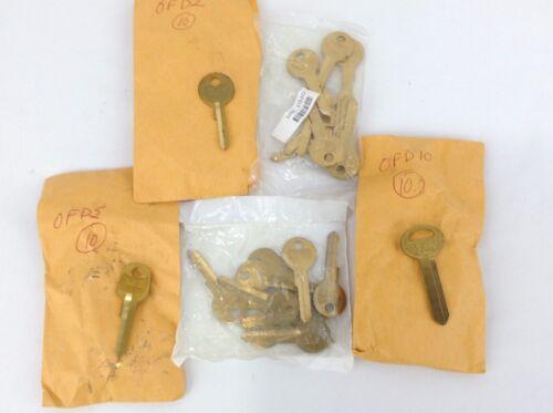 Lot of 5 Sets of Star OFD Key Blanks - Total 50 Keys