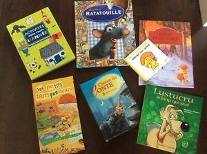 Lot de 7 livres pour enfants