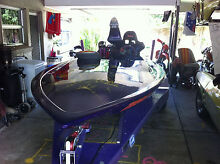 ski boat 350 chev Burleigh Heads Gold Coast South Preview