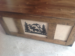 Coffee table trunk chest NEW