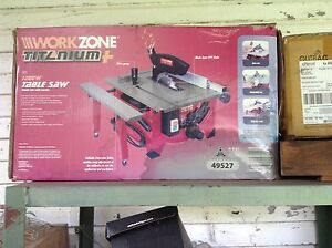 Brand New Work Zone Table Saw Asquith Hornsby Area Preview