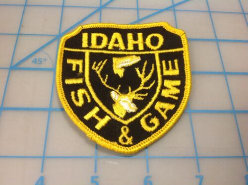 IDAHO Fish & Game  Embroidered Patch (I)