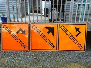 REDUCED 50% - Work place signs and traffic control equipment
