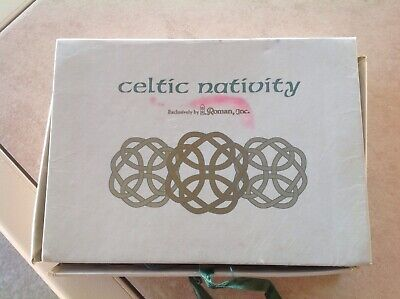 Celtic Nativity Exclusively by Roman Inc.