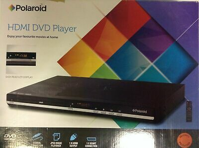 Polaroid Multi Region HDMI DVD Player 1080p Upscaling HD HDTV Free 0 1 2 3 4 5