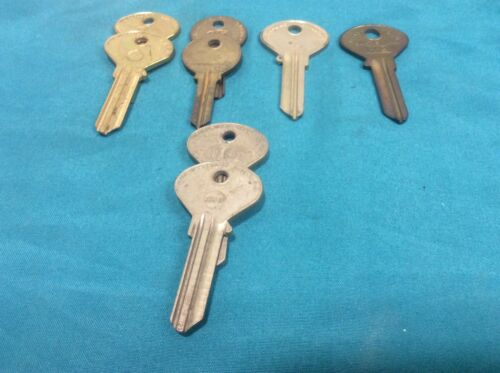 Ilco Curtis & Taylor brand key blanks, set of 8, locksmith