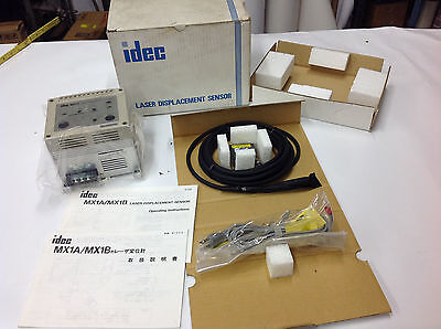Idec Mx1a-b12r6s Laser Displacement Sensor Controller New In Box