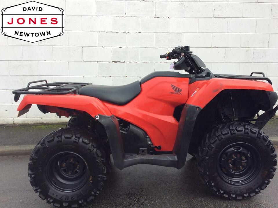 2014 HONDA TRX420 FM MANUAL FOURTRAX 4x2x4 4WD QUAD ATV FOUR WHEELER!