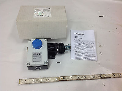 Siemens 3se7140-1bd Emergency Cable Grab Pull Wire Stop Switch 6a400vac. New