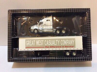 PEM 1/64 not DCP Great West casuality company Tractor/trailer #2