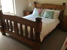 Solid timber bed Oakden Port Adelaide Area Preview